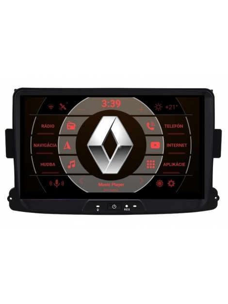 RENAULT Autorádio Android DVD USB a GPS Navigáciou – OS ANDROID 9.0