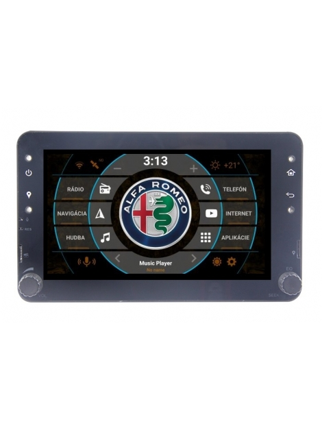 ALFA ROMEO Autorádio Android s DVD USB a GPS Navigáciou – OS ANDROID 7.1