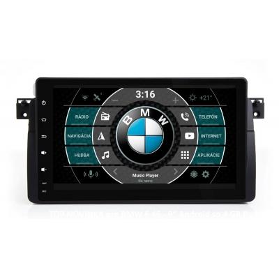 """BMW E 46 Autorádio OS ANDROID 9.0 (4GB RAM) 9"""" Palcové"""