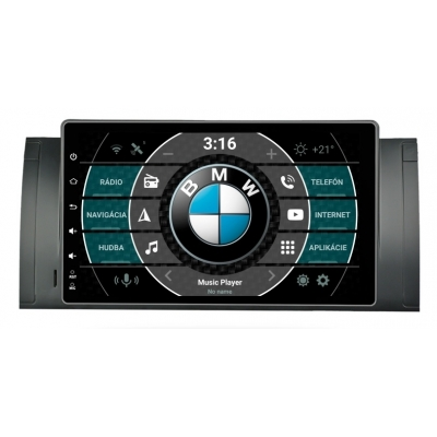 """BMW E39 E53 Autorádio s OS ANDROID 9.0 (4GB RAM) 9"""" Palcové"""