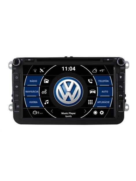 VW Autorádio Android 8 palcové DVD USB GPS Navigáciou – OS ANDROID 8.0