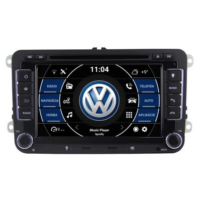 VW Autorádio Android 7 palcové DVD USB GPS Navigáciou-OS ANDROID 8.0