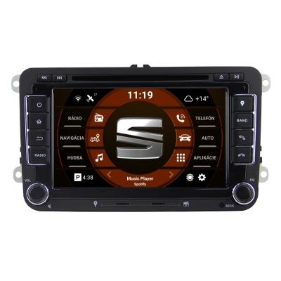 SEAT Autorádio Android 7 palcové DVD USB GPS Navigáciou – OS ANDROID 8.0