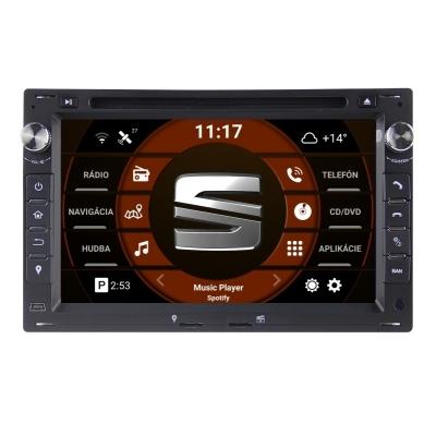 SEAT Autorádio Android DVD USB a GPS Navigáciou – OS ANDROID 9.0