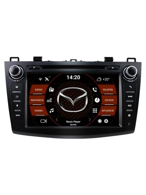 "Mazda 3 Autorádio Android 9.0 (4GB RAM) 8"" Palcové"