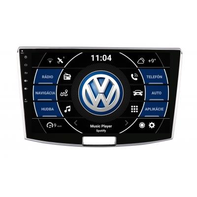 "VW Volkswagen B7 CC Autorádio OS ANDROID 9.0 (4GB RAM) 10.1""Palcové"