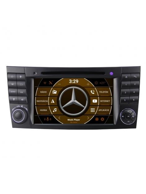 """Mercedes BENZ Autorádio s OS ANDROID 9.0 (4GB RAM) - 7"""" Palcové"""