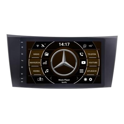 """Mercedes BENZ Autorádio s OS ANDROID 10 (4GB RAM) - 8"""" Palcové"""