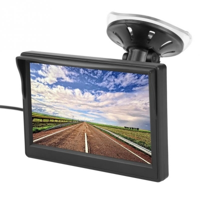 5 palcový parkovací TFT displej - monitor do auta