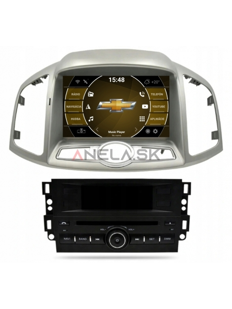 "Chevrolet Captiva ANDROID 10 (4GB RAM) 8"" palcové"