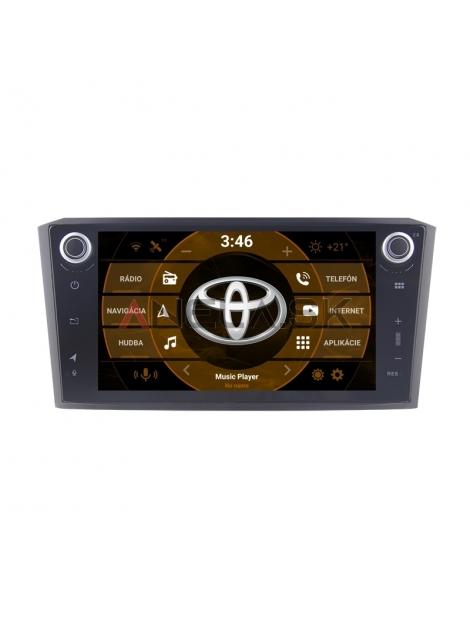 "Toyota Avensisl 2din Autorádio ANDROID 10.0 (4GB RAM) - 8"" Palcové"