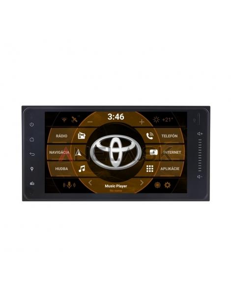 "Toyota UNIverzál 2din Autorádio OS ANDROID 10.0 (4GB RAM) - 7"" Palcové"