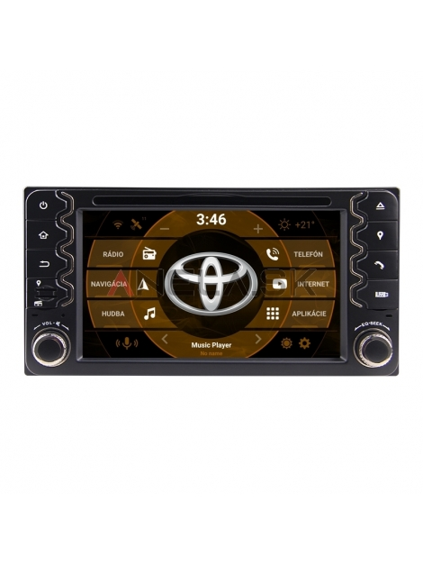 "Toyota RAV 4 / Corolla 2din Autorádio ANDROID 10.0 (4GB RAM) - 6,2"" Palcové"