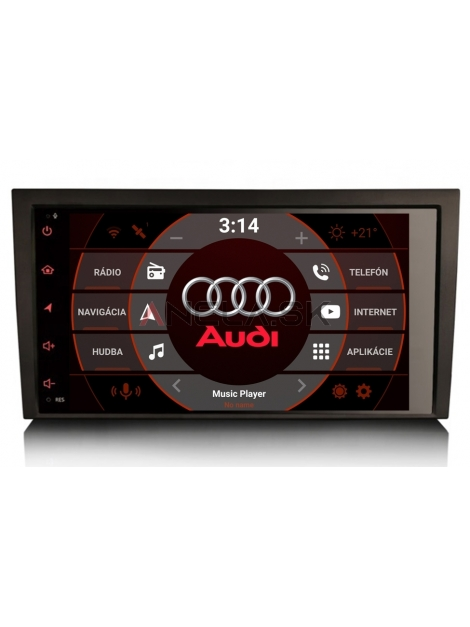 "AUDI A4 Autorádio ANDROID 10.0 (4GB RAM) 8"" Palcové"