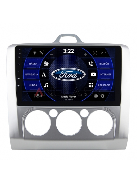 """FORD Focus Autorádio Android ANDROID 10 (4GB RAM) 9"""" Palcové"""