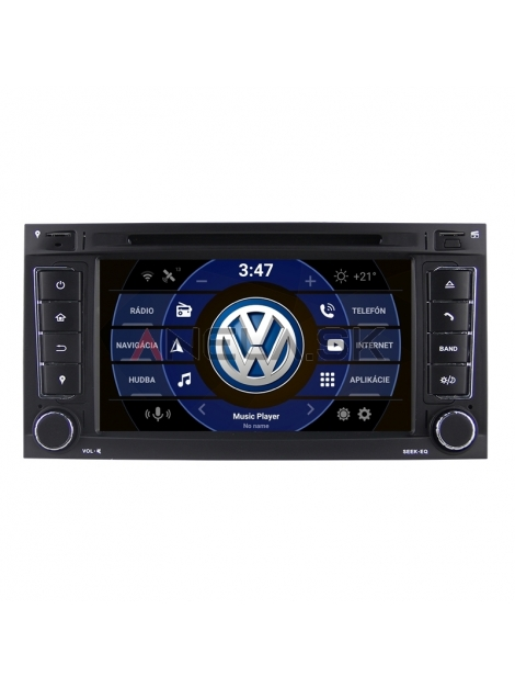 "VW Volkswagen Touareg / Multivan Autorádio ANDROID 10 (4GB RAM) 7"" palcové"