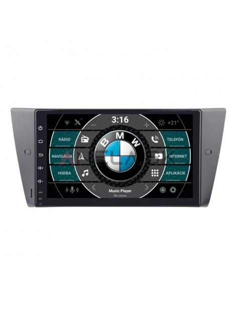 """BMW E 90 Autorádio OS ANDROID 10 (4GB RAM) 9"""" Palcové"""