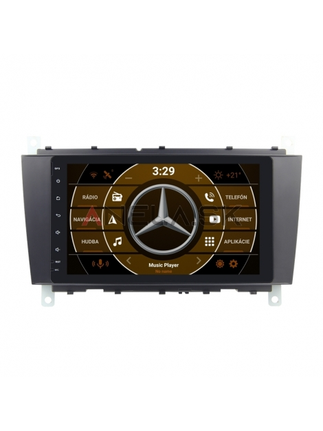 "Mercedes C-Class Autorádio s OS ANDROID 10 (4GB RAM) - 8"" Palcové"