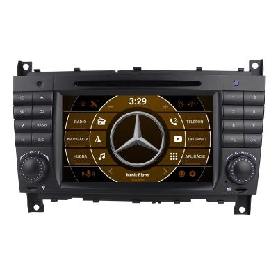 "Mercedes C-Class Autorádio s OS ANDROID 10 (4GB RAM) - 7"" Palcové"