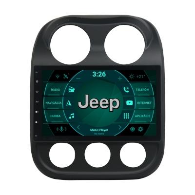 "JEEP Compass Autorádio ANDROID 10 (4GB RAM) - 10,1"" Palcové"