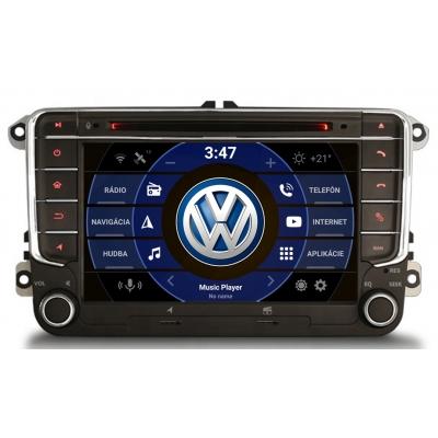VW Autorádio OS ANDROID 10 (4GB RAM) 7 palcové