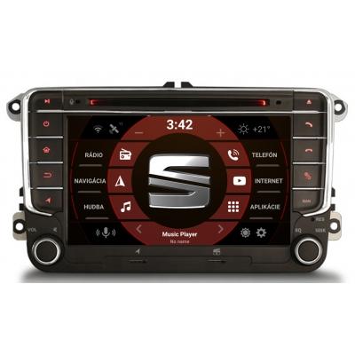 SEAT Autorádio OS ANDROID 10 (4GB RAM) 7 palcové