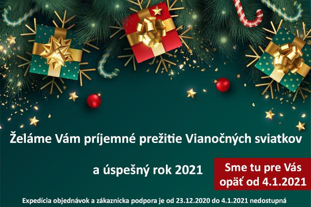 Vianoce a šťastný nový rok